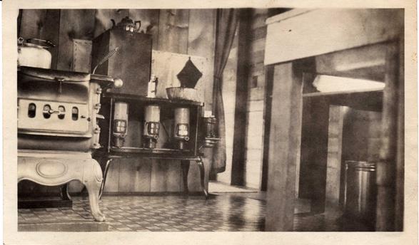 Cabin Inside c.1929