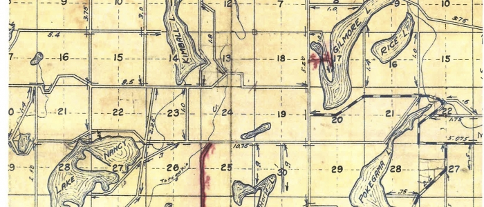 Platmap early 20th century