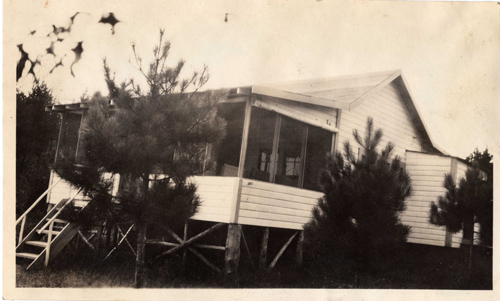 Sideview of Cabin c.1932